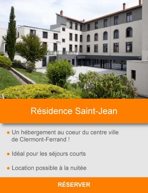 Offre Residence Saint Jean